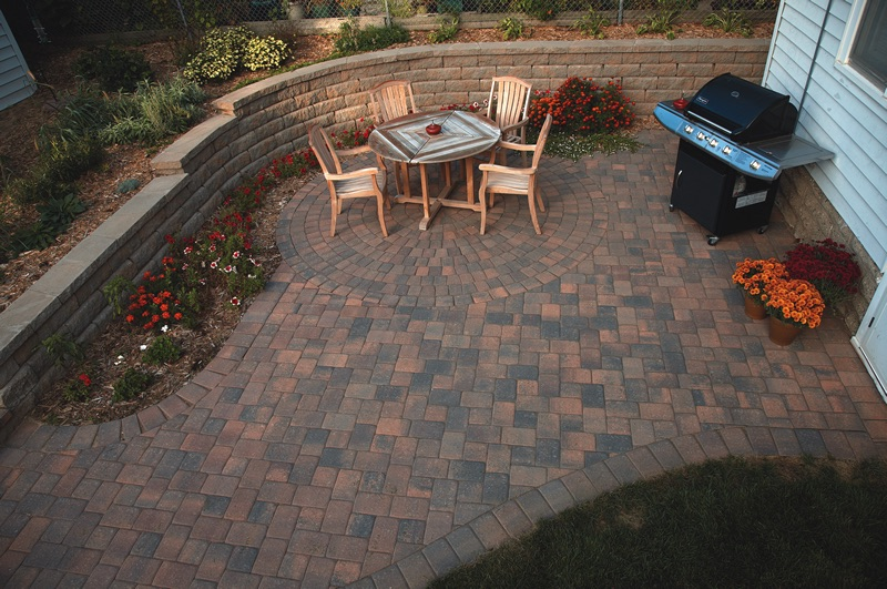 Walkout Patio